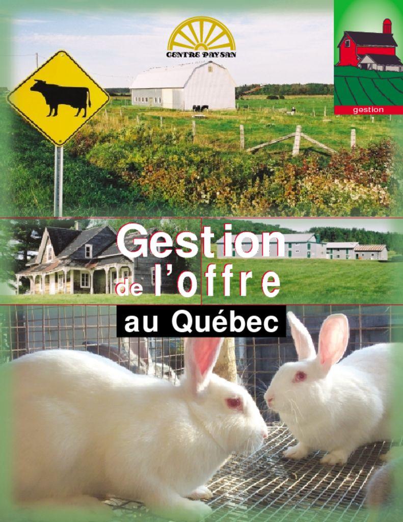 thumbnail of gestion-de-l-offre-au-quebec