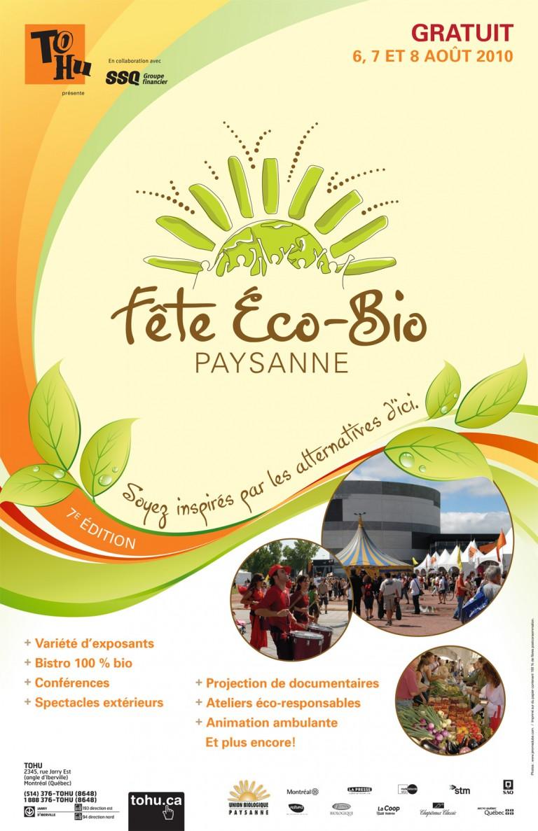 La Fête Éco-Bio Paysanne Montréal 2010
