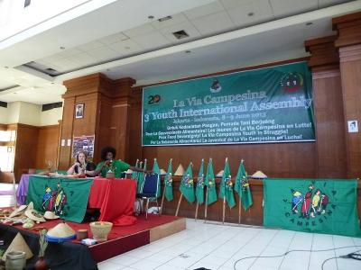 La Via Campesina : Processus régional des jeunes et nouvelles de Jakarta