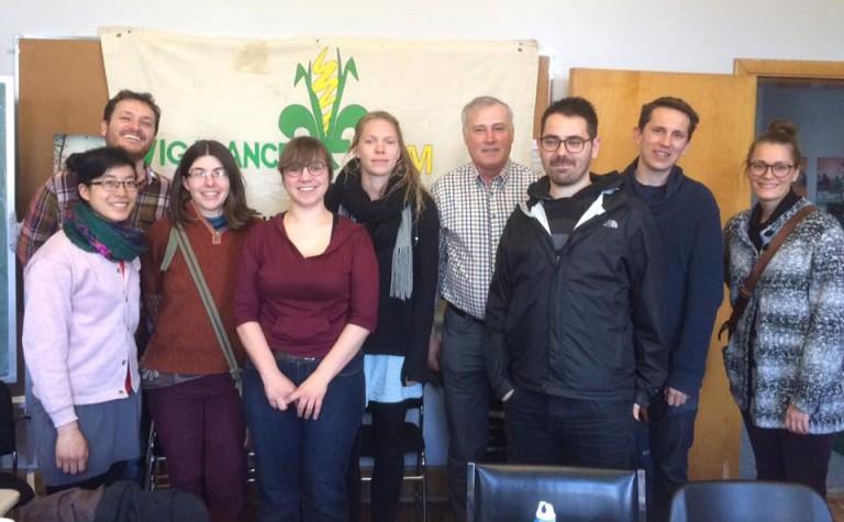 Participation à l'AGA de Vigilance OGM