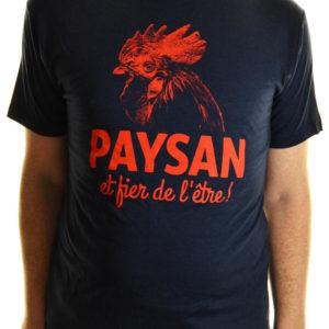 T-shirt Paysan