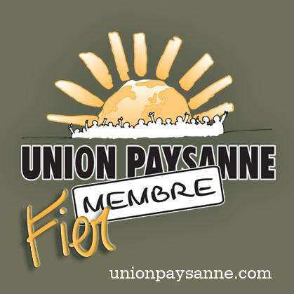 Union paysanne, fier membre