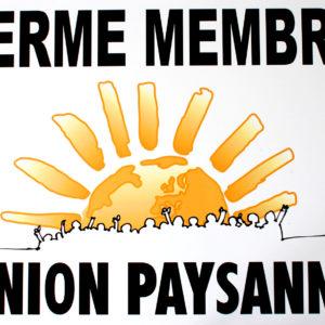 Affiche Union Paysanne
