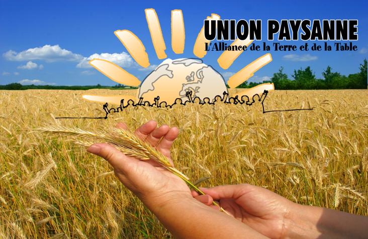 Adhésion à l'Union paysanne