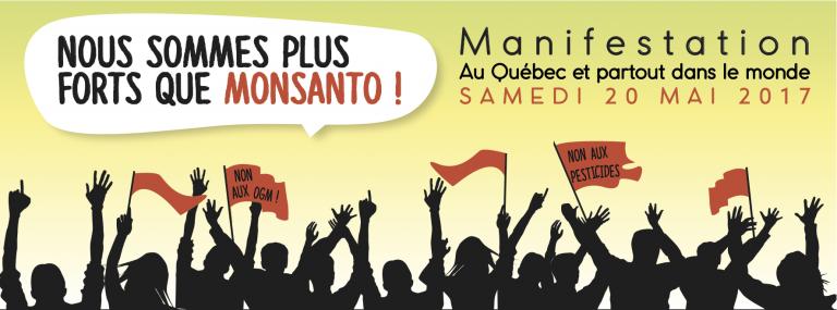 Marche « Nous sommes plus forts que Monsanto! » – 2017