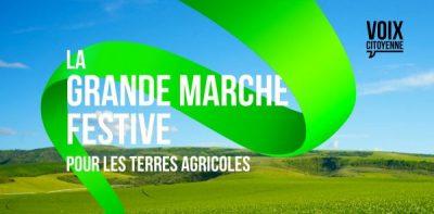 Grande marche festive pour les terres agricoles