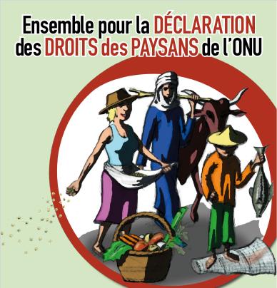 L'Union paysanne interpelle le gouvernement canadien à l'occasion de la Journée internationale des droits humains