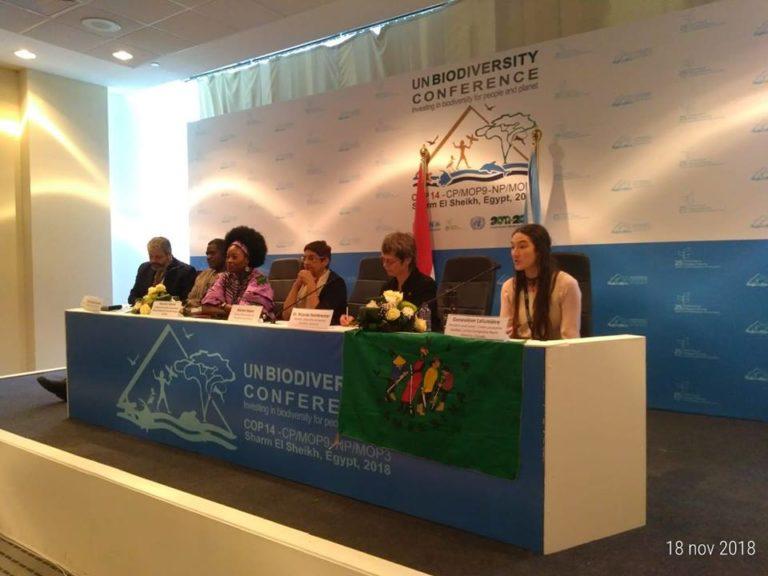 Conférence des Nations Unies sur la biodiversité (COP14): l'Union paysanne présente!