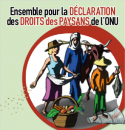 Journée historique : Adoption officielle de la Déclaration des droits paysans!