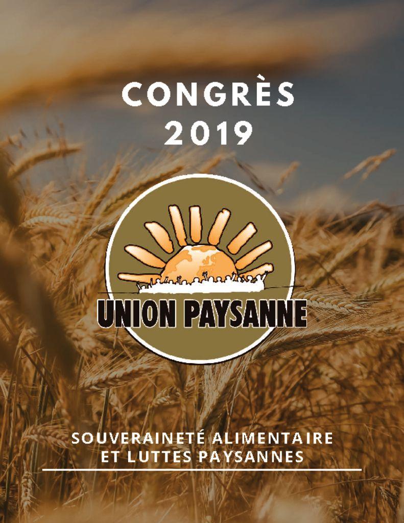 Rapport d'activité 2018 et cahier du congrès disponibles ici