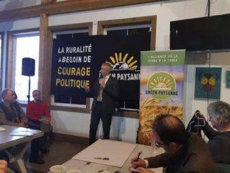 Ministre agriculture André Lamontagne