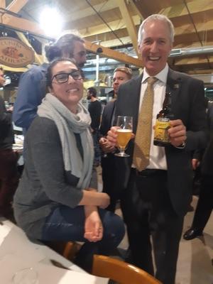 Lancement de la première bière en soutien à la paysannerie