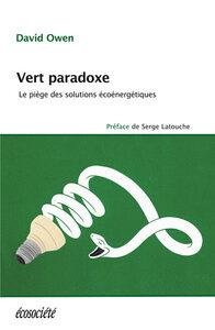 Livre: Vert paradoxe